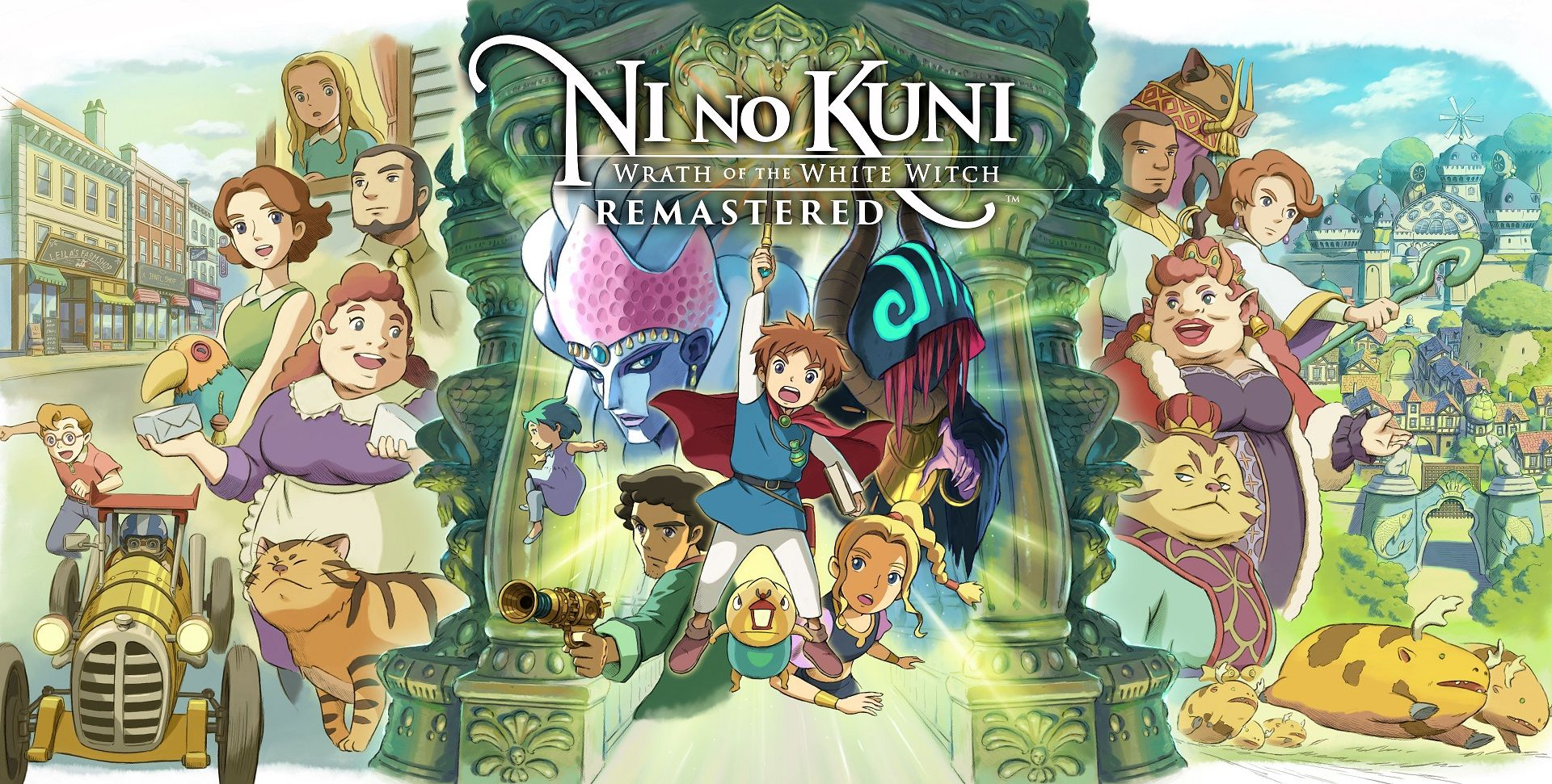 Ni No Kuni: Wrath of the Witch White Wandered Remastered Review