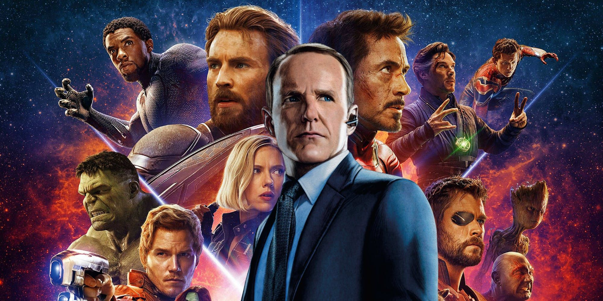 Finale Totally Ignored Avengers: Infinity War ze série 5 hry Agents Of S.H.I.E.L.D.